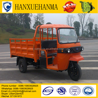 half closed cabin cargo tricycle for sale /traditional heavy duty Bicycle/from China