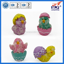 Resin Day Old Chicks for Sale,Chick Beanie Baby (4 Pack),Easter Spring Chick Figures