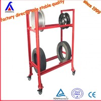 autozone tire rack/shelf, customized price china factory