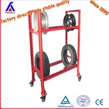 autozone tire rack/shelf, customized price china factory