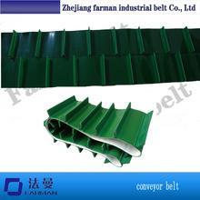 Pvc/pu Baffle Edge Conveying Belt,High Frequency Welding