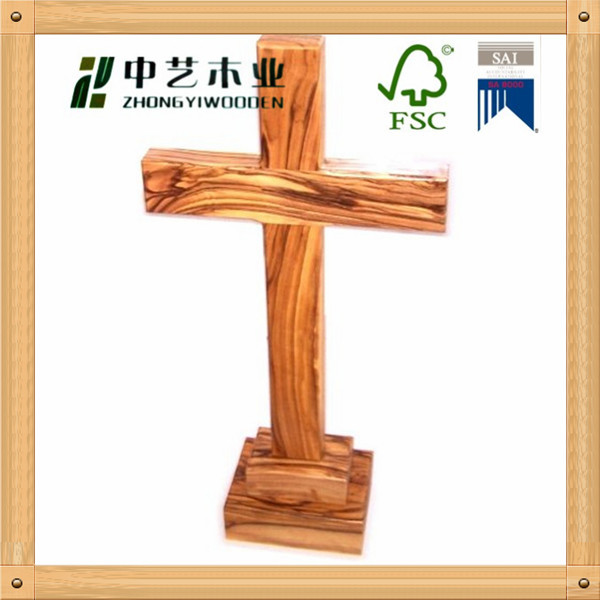 2015 fsc sa8000 approved shabby chic unfinished wooden for Cheap wooden crosses for crafts