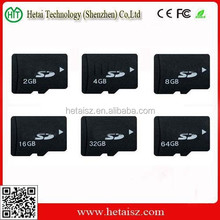 Factory OEM Class Ten Full Storage SD Memory Card 128MB-32GB SD Card