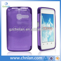 Hot selling plain tpu gel cover phone cover case for alcatel tribe 3040g