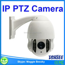 1.3 MP IP PTZ Camera for outdoor,Ptz Ip Camera With Built-in Poe,converter av to ip