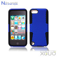 Hard cover for iPod touch 5,Net shell back Anti-shock case for touch 5