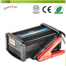 12V Power battery charger for man and car