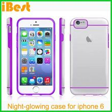 Ibest dual color pc tpu case for iphone 6,phone case maker