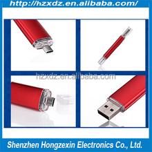 Factory woelsalesl OTG Usb Flash Drives 8gb usb flash drive for mobile phone/pad