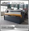 easy maintenance hand lever shearing machine,12*6000 hydraulic shearing machine