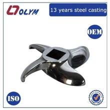 OEM meat grinder steel parts precision castings made in China