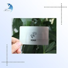 High quality elegant branded plastic credit card,plastic membership card