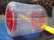 colorful inflatable water rollers/roller water /water walking roller