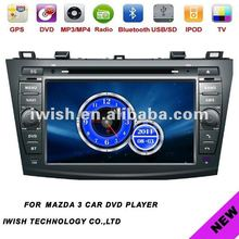 special iwish digital touchscreen car system audio for 2011 mazda 3