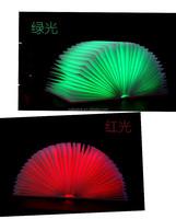 Fashionable Colorful 4 Led Light Folding Led Table Lamp Book Light Burner