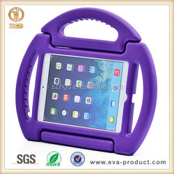 Convenient design kids shockproof universal tablet pc case for ipad mini with handle stand