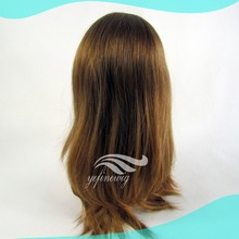 Wholesale Price Blonde Human Hair Half Head Wig