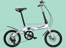 New design Racing Folding Bike for kids with nice bike helt wholesale cheap price