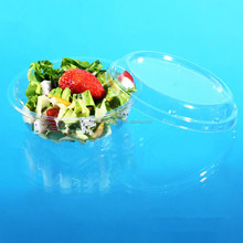 Frozen Heat-sealed Disposable Plastic Fruit Salad Container