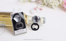 2015 Wedding favor gift luxury ring metal bottle opener