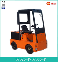 8T-25T Best Sale Heavy-duty Electric Tow Tractor with Cabin