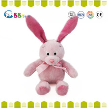 OEM customized design Pink long ears rabbit with EN and ATSM standard