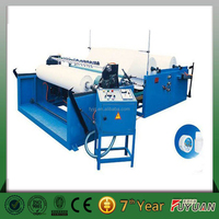 Tissue paper kitchen towel paper rewinding slitting machine,semi automatic toilet tissue paper production line