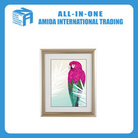 modern design parrot pattern hanging wall picture