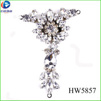 HW5857 shoe jewelry sandalias 2015 ladies accessories wholesale shoe adornments