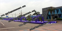 Hot 150m Inflatable slide the city best quality inflatable slip and slide for sale SP-PS039