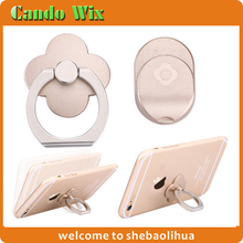 phone stand popular flower shape metal phone ring holder