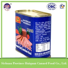 Hot sell 2015 new products beef products canned/canned beef luncheon meat oem food