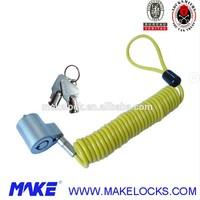 MK805-1Y Computer Tubular Key Cable Lock