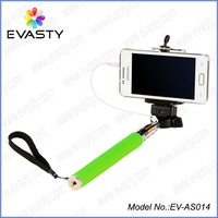 (2015 factory direct) Extendable Handheld selfie monopod , mobile phone Monopod with bluetooth remote shutter