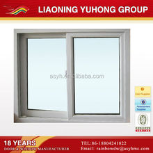 Maintenance-free interior pvc sliding window