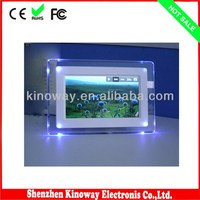 High quality 7inch jpeg picture frame800*480