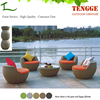 YH-8040 ball chair unique outdoor furniture patio garden furniture chair set ball chair unique outdoor furniture patio garden f