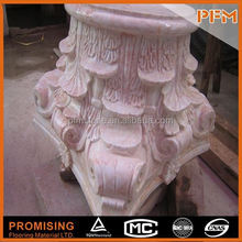 Fast supplier carved decorative column mold
