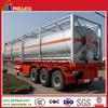 tri-axle 30-60cbm, liquid nitrogen tanker truck semi trailer tank