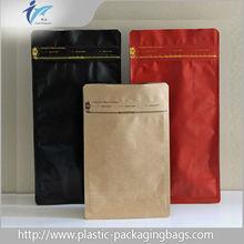 Wholesale products pet food bag, ziplock stand up kraft paper bag