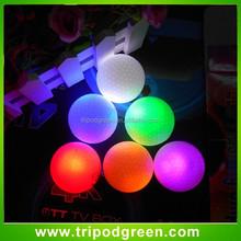 flash light bulk colored golf balls led,wholesale led golf balls