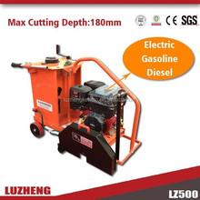 Zhengzhou road machine Gasoline Concrete Cutter with 400 or 450mm Diamond Blades