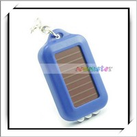 New Product Mini Solar Power Rechargeable LED Flashlight