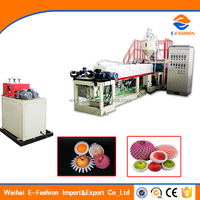 EF Modern Flower/Rose Protection Sleeves Extruding Machine