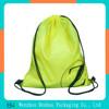 Customized satchel polyester drawstring bag backpack