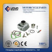 Multifunctional air cylinder motorcycle cylinder block set engine block kit AX100 AX115 for suzuki bore 52.5mm