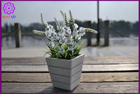 Artificial Small Potted Lavender Plants