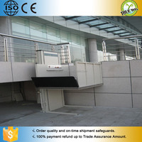 Electric chair lift/Manually operated wheel chair hoist platform lift