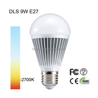 waterproof 9W LED bulb light, 850Lm, CRI80, 60W incandescent replacement, UL