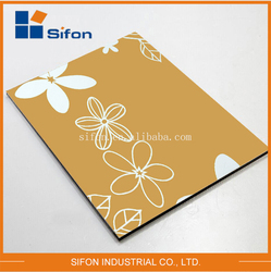 Guangdong Aluminium Plastic Composite Panel Acm & Acp For Wall Cladding